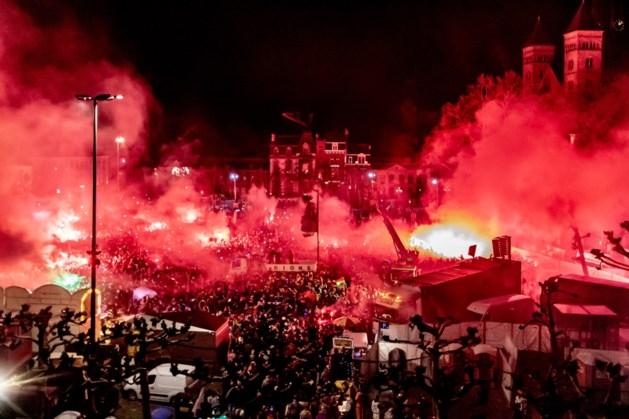 Duizenden bij einde van carnaval op Vrijthof Maastricht