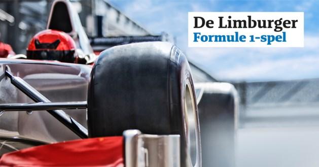 Laatste kans: Speel gratis mee met het Formule 1-spel van De Limburger