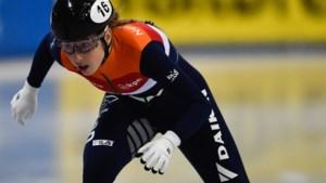 Van Ruijven wereldkampioene op 500 meter shorttrack