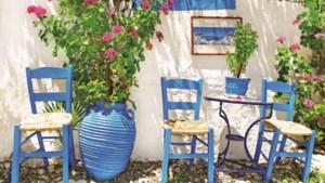 Relaxen onder de Griekse zon