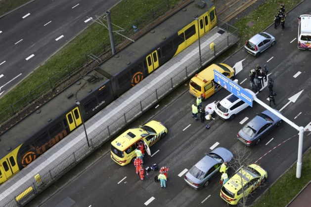 Drie doden en vijf gewonden bij de aanslag in de tram in Utrecht