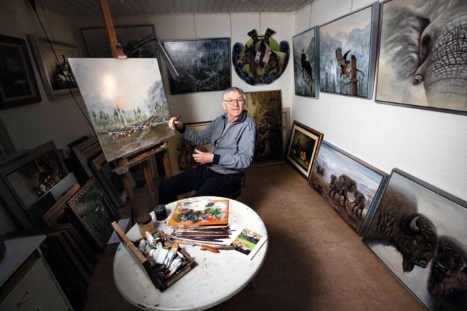 Weekend of niet, Theo Hendrikx móet schilderen