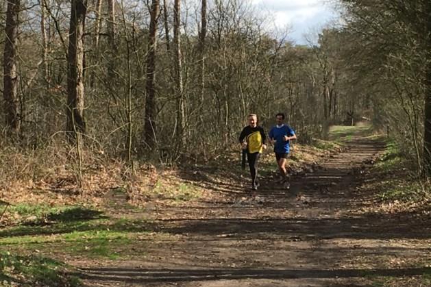 De Grenslaupers maakten kilometers in Nederwetten en Stramproy