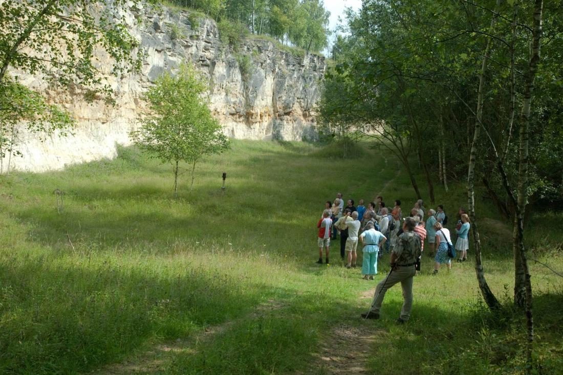 Excursie door Groeve 't Rooth - De Limburger
