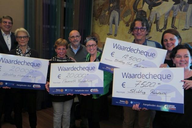 Boekenbeurs verdeelt 60.000 euro over vier goede doelen