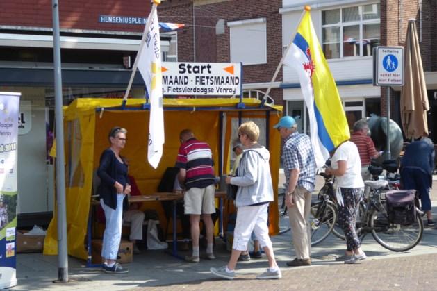 Gezinstocht als voorbereiding op fietsvierdaagse Venray