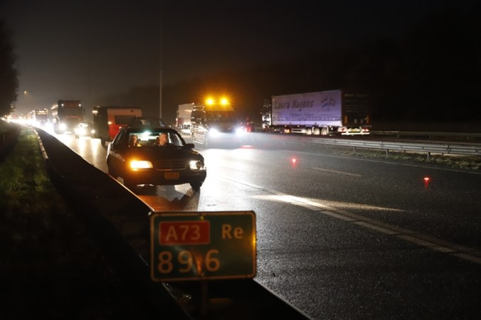 Nieuw onderzoek naar vele ongelukken op A73