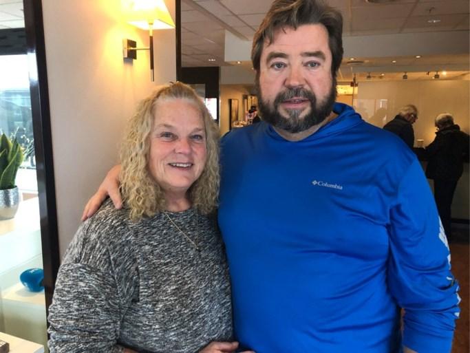 Rodney en Judy gered van cruiseschip: 'Een golf sleurde ons mee'