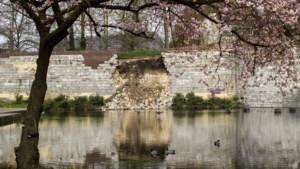 Deskundigen vrezen nog meer schade aan Maastrichtse stadswal