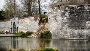 Stuk stadsmuur stort in: 'Wat een ellende, de restauratie was bijna klaar'