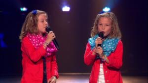 Podcast met 'hoofdrol' voor zingende tweeling Jada en Senna Dorsers uit Beesel