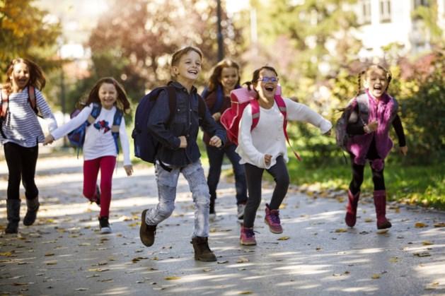 Basisschool Sint Gertrudis in Sint Geertruid heeft beweegvriendelijk schoolplein