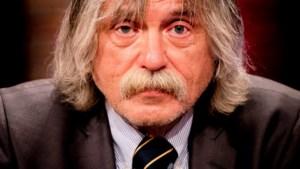 Johan Derksen na val van trap: 'Er komt nu een kinderhekje op de overloop'