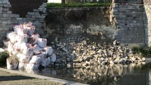 'Walmuur in Maastricht moet over tientallen meters worden hersteld'