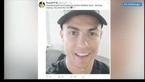 Ronaldo wenst Nouri in videoboodschap sterkte bij herstel