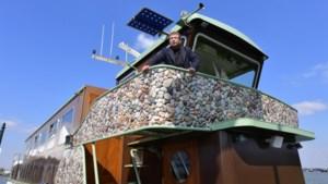 Historische rondvaartboot vertelt verhaal van de grindwinning