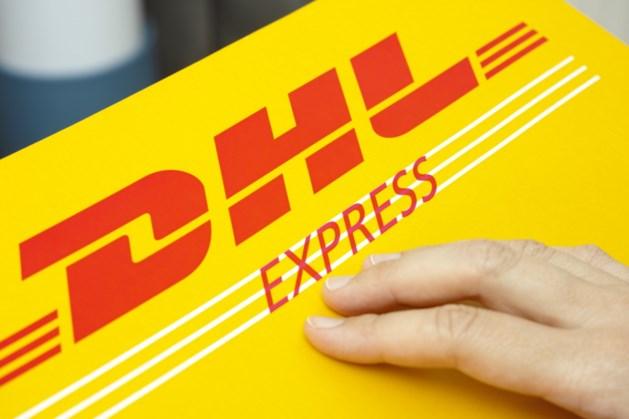 Duurzaam centrum DHL bij vliegveld