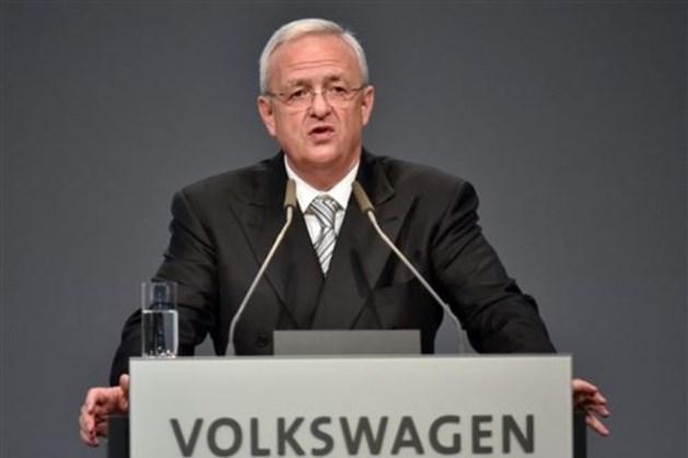 Duitse aanklacht oud-topman Volkswagen