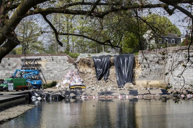 Vestingexperts: 'Oog voor historische missers bij restauratie ingestorte muur Maastricht'
