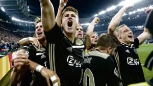 Aandeel Ajax omhoog na bereiken halve finale Champions League