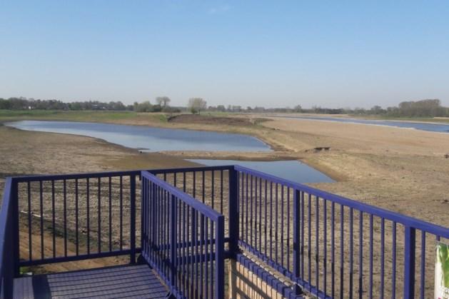 Mobiel uitkijkplatform biedt verrassende kijk op Grensmaas