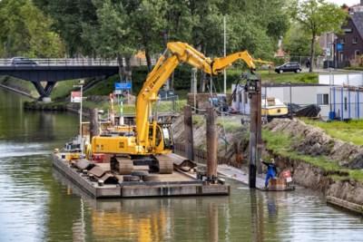 Nieuwe damwanden moeten kanaaloevers vijftig jaar beschermen