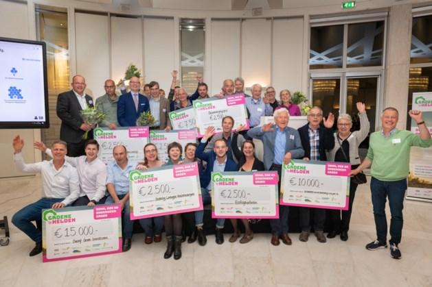 Eerste drie prijzen Groene Helden Limburg Stimuleringsprijs 2019 vallen in Noord- en Midden-Limburg