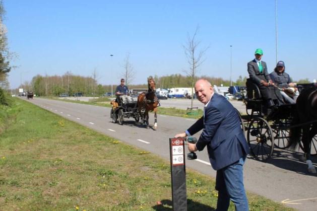 Knooppuntenroutes voor ruiters en menners in Horst aan de Maas