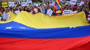 Weer duizenden mensen de straat op in Venezuela