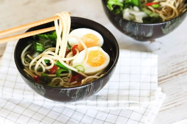 Japanse ramensoep: maak 'm met toppings naar keuze