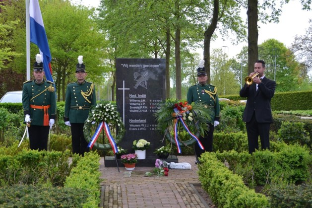 Dodenherdenking in Posterholt voor dorpsgenoten