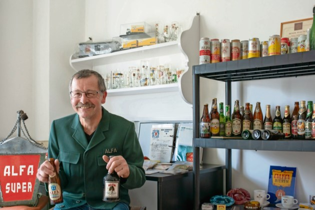 Alfa-verzamelaar Frans Haerden komt precies één glas tekort