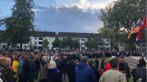500 mensen bij herdenking op oude ceremonieplek Maastricht, deels uit 'stil protest'