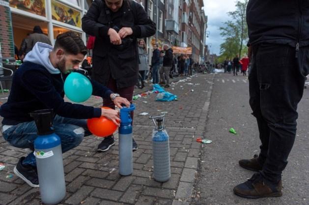 Lachgas verboden op vrijwel alle Bevrijdingsfestivals