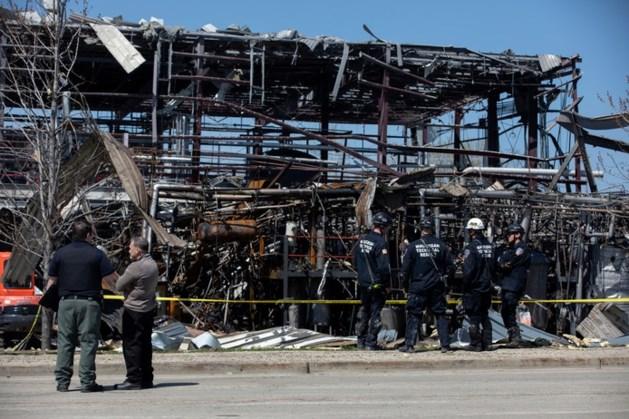 Drie doden door explosie in chemiefabriek VS