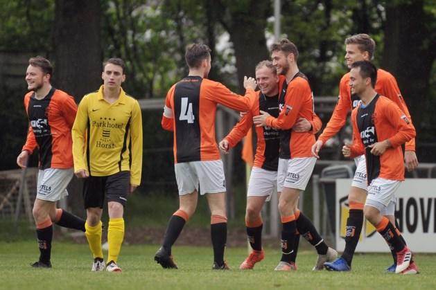 Na winst voetbalt Venlosche Boys nog een jaar in eerste klasse