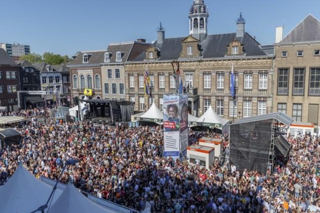 Politie houdt 5 mensen aan bij bevrijdingsfestival Roermond