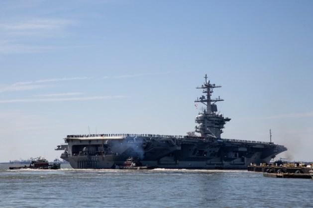 VS sturen oorlogsschepen richting Iran