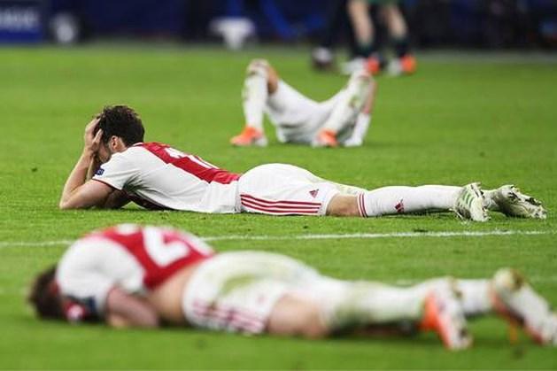 Ajax in tranen na dramatische ontknoping tegen Tottenham