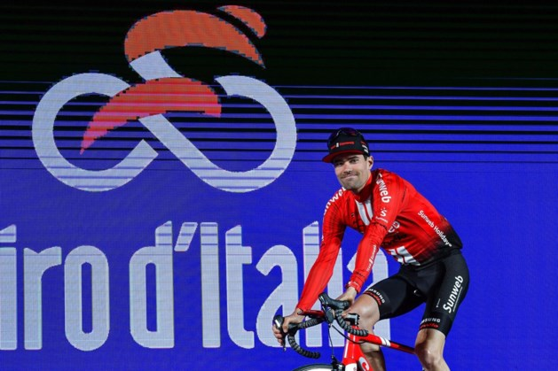 Giro van start met spektakel in Bologna