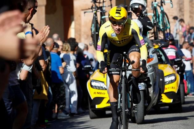 Roglic slaat zijn slag in de openingsetappe van de Giro
