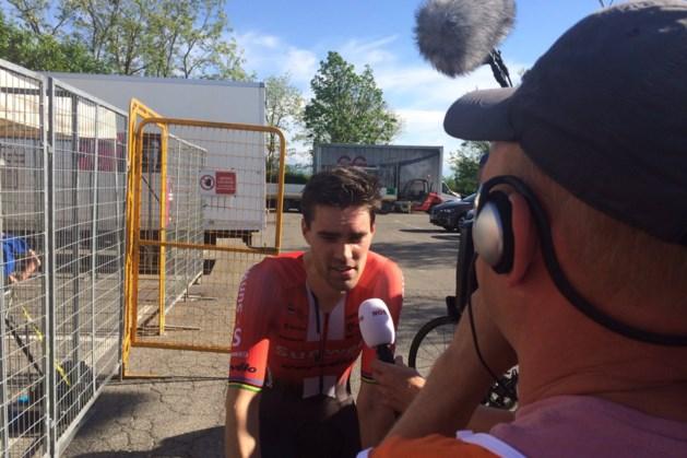 Openingsrit Giro: zware tegenvaller voor Tom Dumoulin