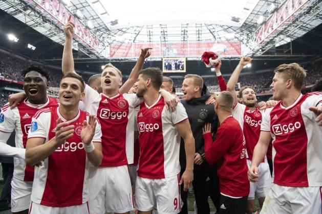 Gemor over vroege tijdstip huldiging Ajax