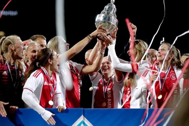 Vrouwen Ajax pakken beker dankzij winnende goal Lewerissa