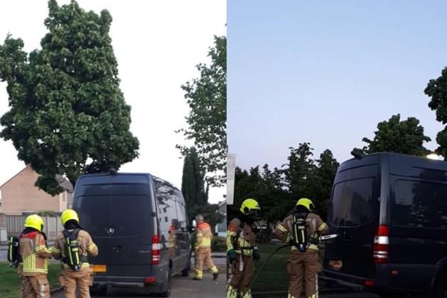Politie vindt busje met drugsafval in Ittervoort