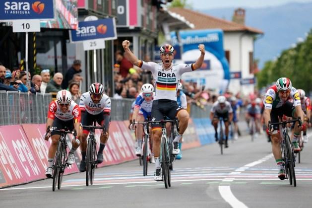 Ackermann sprint bij debuut in grote ronde naar ritwinst
