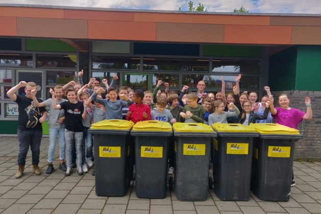 Elf basisscholen nemen het tegen elkaar op in E-waste race