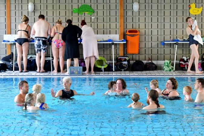 Babyzwemmen: vooral de ouders moeten hard werken