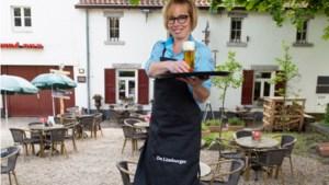 Limburgs beste serveerster vind je op terras De Vief Heringe in Sittard