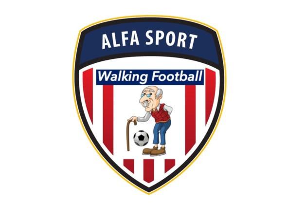 Demonstratie Walking Football bij Alfa Sport